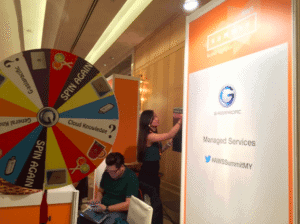 AWS Summit Wheel of Fortune