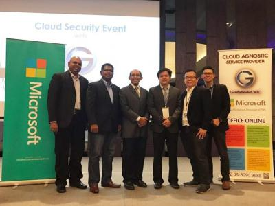 Cloud Security Event at Aloft Hotel